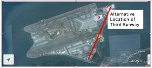 Hong Kong International Airport: Alternative Location of Third Runway.