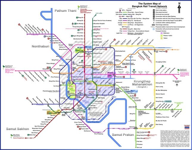 Bangkok-Metro-Map