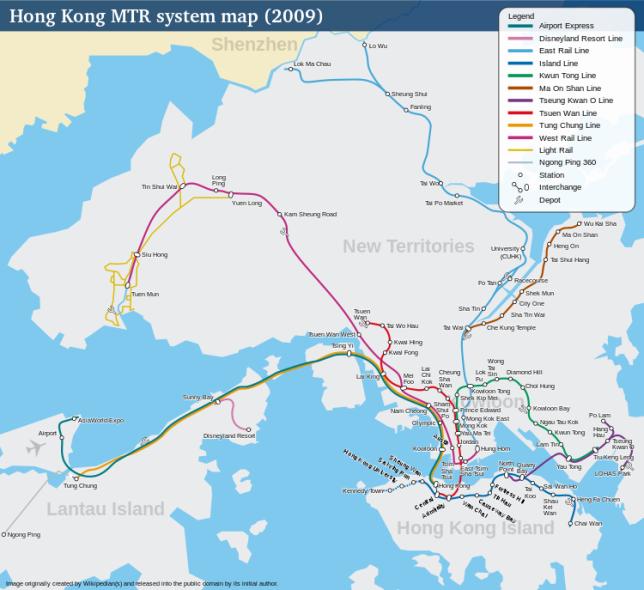 HK-MTR-Map
