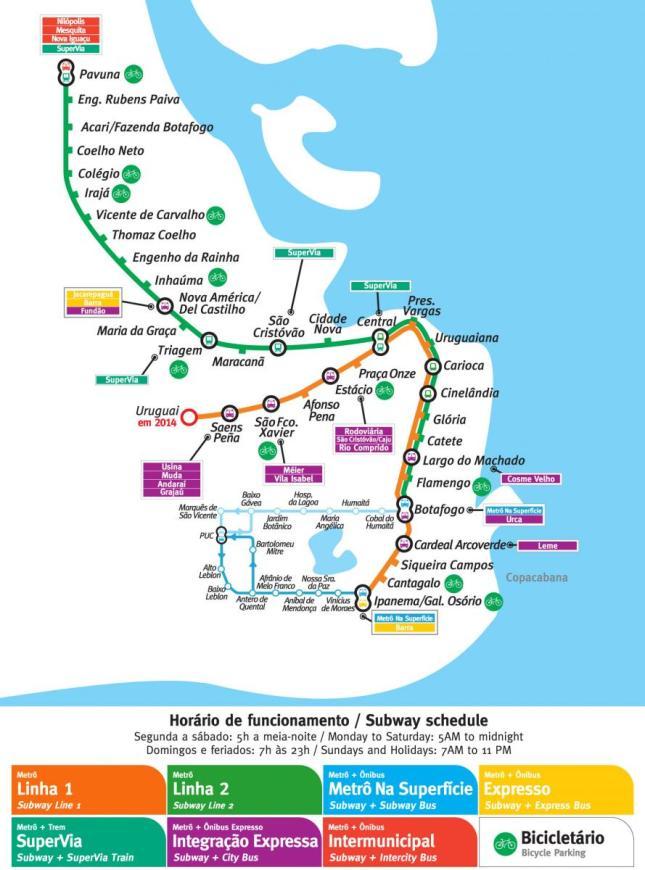 Rio-Metro-Map
