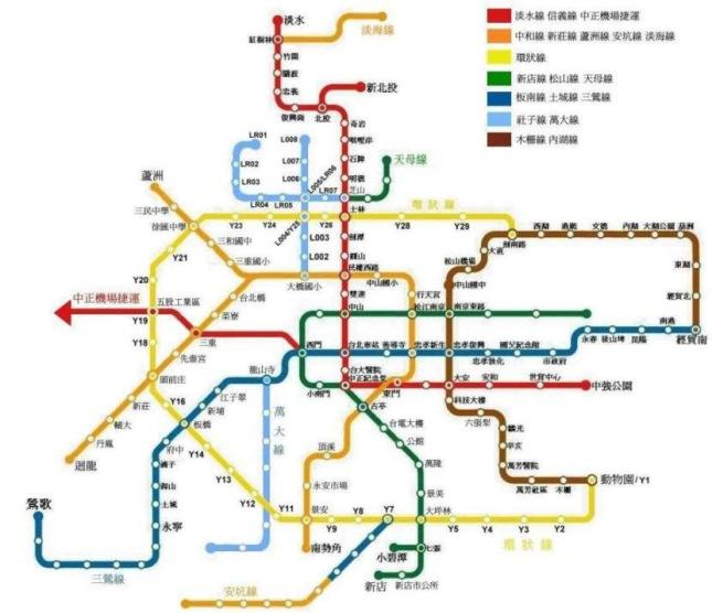 Taipei-Metro-Map
