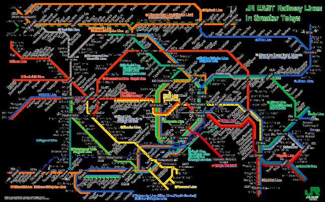 Tokyo-JR-Map